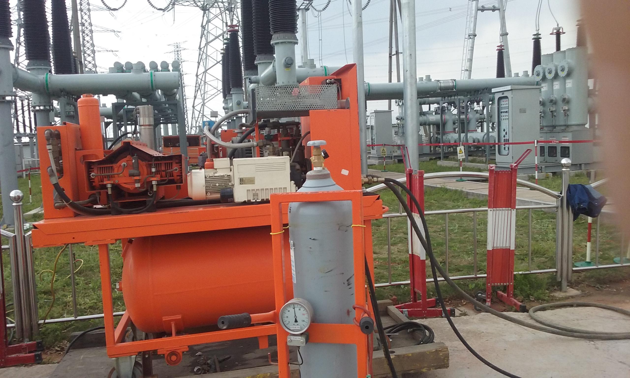 当真空泵抽空边无超压存在时电磁阀才可从真空泵中开启.